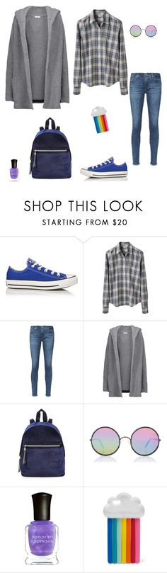 """""""Untitled #439"""" by micha-p ❤ liked on Polyvore featuring Converse, Steven Alan, AG Adriano Goldschmied, Chinti and Parker, Sunday Somewhere, Deborah Lippmann and STELLA McCARTNEY"""