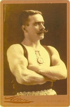 Vintage Strongman