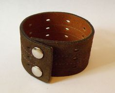 Suede Leather Wrist Cuff