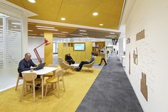 Breakout Areas: Jaicer Chairs and Tables, Open Soft Seating and Tables by Allermuir