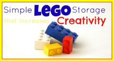 Simple LEGO Storage that Increases Creativity