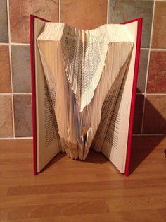 Book Folding Pattern  Holding Hands  217 Folds by CraftyHana £3