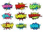Set Comic Text Pop Art Style Stock-Vektorgrafik (Lizenzfrei) 198890603 Comic book sound effect speech bubbles, marveling and enjoying expressions Comic Book Font, Comic Books, Comic Book Style Art, Captain America Comic, Bullet Journal Themes, Bullet Journal Inspiration, Comic Book Bubble, Graphic Novel, Comic Text