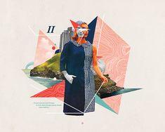 Digital - Andrew McGranahan. Graphic Design. Collage.