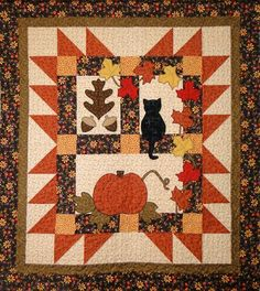Autumn Motifs by rmdesigns | Quilting Pattern - Looking for your next project? You're going to love Autumn Motifs by designer rmdesigns. - via @Craftsy