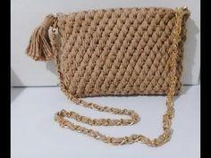 Bolsa em Crochê com barroco maXcolor (6) - YouTube