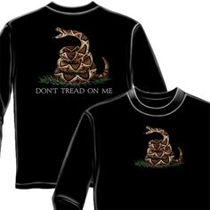 a0d51688 Don't Tread On Me Long Sleeve Shirt #fashion #clothing #shoes #accessories  #mensclothing #shirts (ebay link)