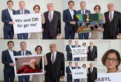 Asyl-Aktionsplan: Twitter spottet über ÖVP-Foto