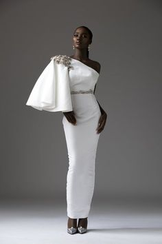 Tubo Depicts The Classic Feminine Form With This Timeless & Ultra Gorgeous Bridal Collection African Men Fashion, African Fashion Dresses, Womens Fashion, Africa Fashion, African Attire, African Dress, Custom Dresses, Custom Clothes, Zuhair Murad
