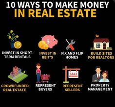 Real Estate Buyers, Real Estate Tips, Real Estate Investing, Best Way To Invest, Way To Make Money, Business Motivation, Business Tips, Business Entrepreneur, Business Quotes