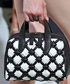 Meshwork bag, triaxial bag, Marni printemps 2012