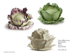 Vladimir Kanevsky's porcelain cabbage tureen.