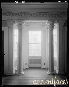 108 best Demopolis Through My Eyes images on Pinterest   Demopolis     This stone and stucco bay window interior view was captured by Frances  Benjamin Johnston in 1939 in Gaineswood  Alabama