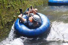 Texting while tubing is totally legal😎🤙. #kauaitubing #tubekauai #kauaibackcountryadventures