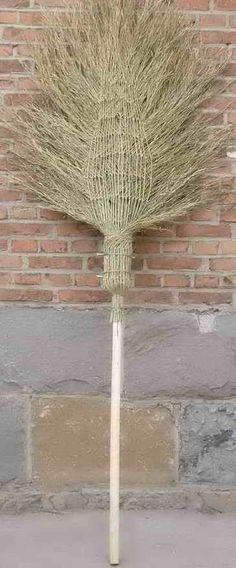 A beautiful woven chinese broom..it has a link to a chinese site, you should probably NOT click on it.