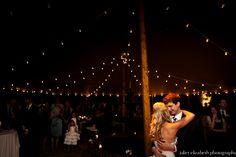 dancing/string lights