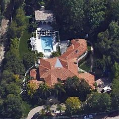 Bruce and Kris Jenner's house in the community of Hidden Hills, California.  This 8,860 square foot home was built in 1998.  Bruce Jenner is a former US track star, who won the Decathlon during the 1976 Summer Olympics.  He married Kris Kardashian, now Jenner, in 1991.  The two separated in late...