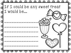 Valentine's Day Writing Prompts - 10 fun writing prompts for the month of February. Use at a writing center, for early finishers, or as morning work. Hang up for a seasonal bulletin board, and then send home to parents as part of a Valentine's Day card.