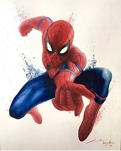 #marvelcomics #marveluniverse #marvel #spiderman Who's excited to see him in Civil War⁉️