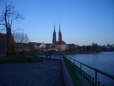 John's Cathedral view from Odra river side