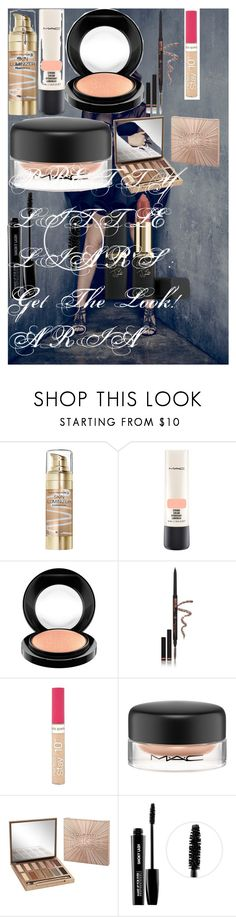 """PRETTY LITTLE LIARS : Get The Look! ARIA"" by oroartye-1 on Polyvore featuring beauty, Max Factor, MAC Cosmetics, Anastasia Beverly Hills, Rimmel, Urban Decay, MAKE UP FOR EVER and L'Oréal Paris"