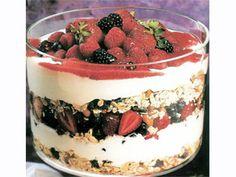Recetas | Triffle de queso y frutos rojos | Utilisima.com