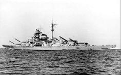 Tirpitz the heaviest Battleship built in Europe it was about 2000 tons heavier than the Bismarck.