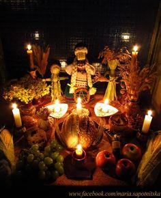Lughnasad altar