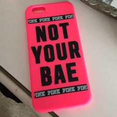 Victoria secret iPhone 6 case Victoria secret iPhone 6 case PINK Victoria's Secret Accessories Phone Cases