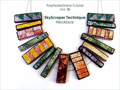 Polymer Clay SkyScraper Necklace - Tutorial