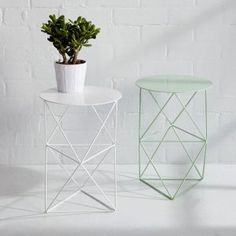 metal plant stands by Eric Trine from West Elm | Gardenista