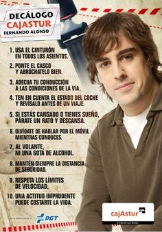 10 consejos Fernando Alonso Díaz is a Spanish Formula One racing driver and a two-time World Champion who is currently racing for Scuderia Ferrari.