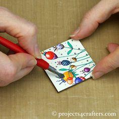 Projects4Crafters.com: Spelen met Stampbord
