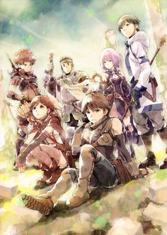 Hai to Gensou no Grimgar  - I love the style this anime is done in.