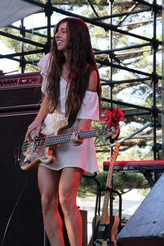Paz Lenchantin, ex bassist for A Perfect Circle