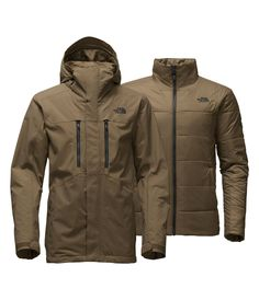This versatile 3-in-1 ski jacket system is all you need in your arsenal for customizable waterproof, insulated protection on the slopes this winter. Pair the waterproof woven exterior shell with the lightly insulated zip-in liner jacket for warmth in colder conditions.