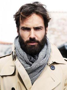 Homens de barba - O retorno da virilidade