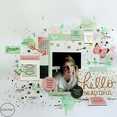 This is my new page for @scrapdelight. I am featuring the 'Daydreamer' paper pack, the 'Daydreamer' foiled cardstock: Happy Moments, the 'Daydreamer' clear stamps, the 'Daydreamer' collactables by @kaisercraft, the Distress Oxide Inks 'Worn Lipstick' & ' Cracked Pistachio'. www.scrapdelight.nl ¤ Voici ma nouvelle page pour @scrapdelight. Je présente la collection de papiers 'Daydreamer', le cardstock métallisé 'Daydreamer': Happy Moments, les clear stamps 'Daydreamer', les Collectables…