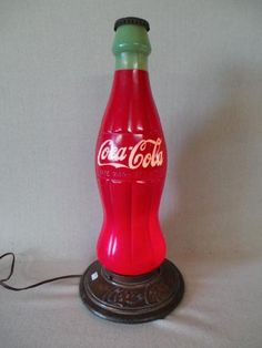 Coca Cola Display Bottle Lamp