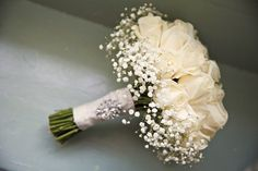 Champagne Wedding Flowers, Simple Wedding Bouquets, Bridal Flowers, Flower Bouquet Wedding, Simple Weddings, Bouquet Flowers, Wedding Simple, Bridal Bouquets, Baby Bouquet