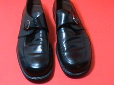 1a5f3feadc Cole Haan City Leather Dress Shoes ~Side Buckle~11D~ Black Professional  Shoes,