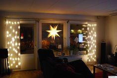 julstjärna,julgardiner,belysning