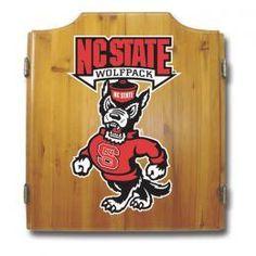 North Carolina NC State Wolfpack Dartboard