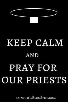 Pray for priests!