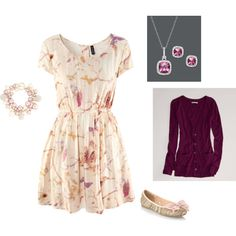 """""""Casual Dress Outfit"""" by radsstylebook on Polyvore"""