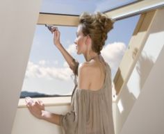 Passive roof rotation window encourages real energy savings.