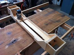 Wood router tree table top router jig
