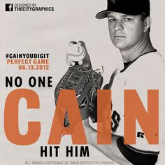 Perfection! The 22nd perfect game in MLB history! #CainYouDigIt @SFGiants