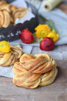 Zimtkringel für die Ostertafel | Das Knusperstübchen