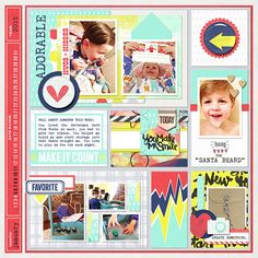 Project Life 2015 - Week 2 - LEFT - layout by amymarieschn  CREDITS: Ready-To-Go 12 x 12 Pocket Page Templates - Storyteller Hunter Weeks 1-5 [http://the-lilypad.com/store/Ready-To-Go-12-x-12-Pocket-Page-Templates-Storyteller-Hunter-Weeks-1-5.html] by Just Jaimee (in coordination with Pride & Joy Designs)